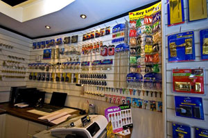 Inside We Are Locksmiths Shop in Southampton