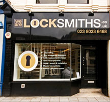 We Are Locksmiths Shop-Front
